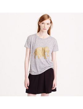 golden-elephant-t-shirt by jcrew