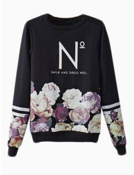 black-floral-sweatshirt-with-n-pattern by choies