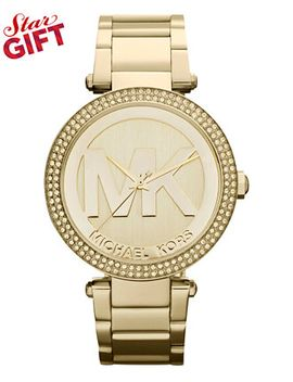 womens-parker-gold-tone-stainless-steel-bracelet-watch-39mm-mk5784 by michael-kors