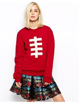 house-of-holland-rugby-ball-sweatshirt by house-of-holland