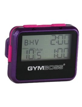 gymboss-interval-timer-and-stopwatch---violet-_-pink-metallic-gloss by gymboss