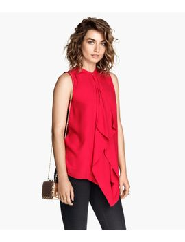 draped-blouse by h&m