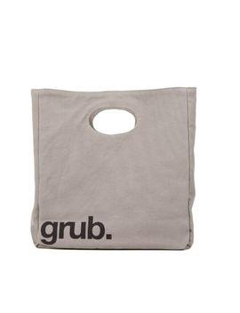 fluf-big-lunch,-organic-cotton-lunch-bag,-grub by fluf