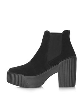 hola-suede-chelsea-boots by topshop