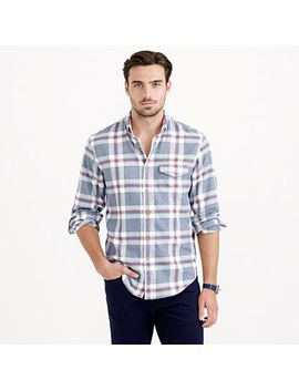 brushed-twill-shirt-in-explorer-blue by jcrew