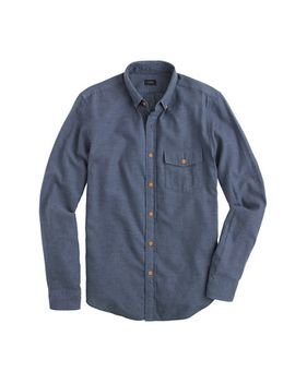 brushed-flannel-shirt by jcrew