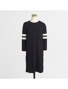 factory-side-zip-sporty-dress by jcrew