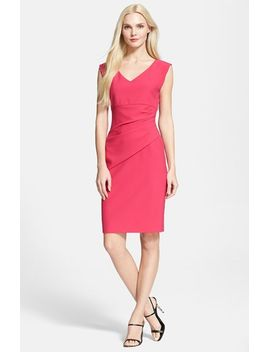 bevin-ruched-sheath-dress by diane-von-furstenberg