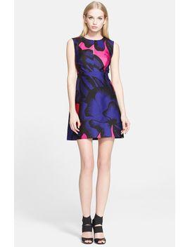 yvette-print-a-line-dress by diane-von-furstenberg