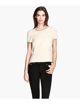 short-sleeved-blouse by h&m