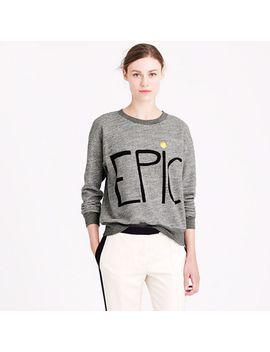 hugo-guinness-for-jcrew-epic-sweatshirt by jcrew