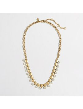 factory-gold-and-crystal-necklace by jcrew