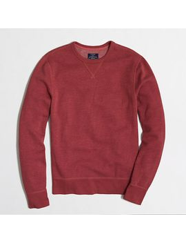 fleece-sweatshirt by jcrew