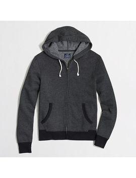 factory-fleece-full-zip-hoodie by jcrew