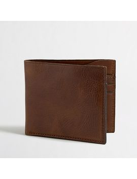 leather-billfold-wallet by jcrew