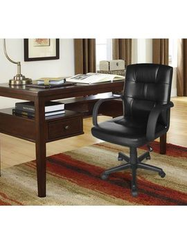 mainstays-tufted-leather-mid-back-office-chair,-multiple-colors by mainstays