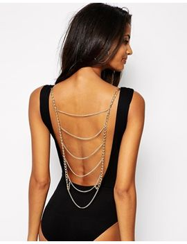 asos-body-with-chain-back by asos-collection