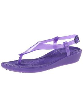 crocs-womens-really-sexi-t-strap-sandal by crocs