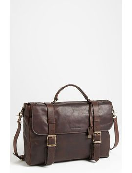 logan-leather-flap-briefcase by frye