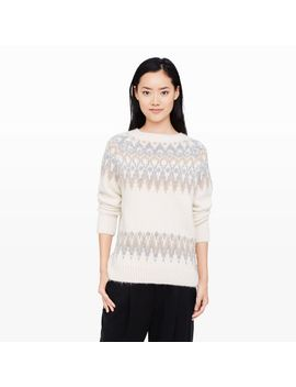 sarahfina-fair-isle-sweater by club-monaco