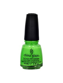 china-glaze-nail-polish-5-oz-electropop-gaga-for-green-lacquer-80738-salon-sexy by ebay-seller