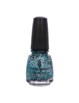 china-glaze-05oz-nail-polish-blue-sparkle-holiglaze-bells-will-be-ringing-81397 by china-glaze