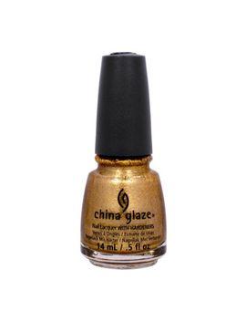 china-glaze-05oz-nail-polish-holiglaze-gold-shimmer-mingle-with-kringle-81398 by china-glaze