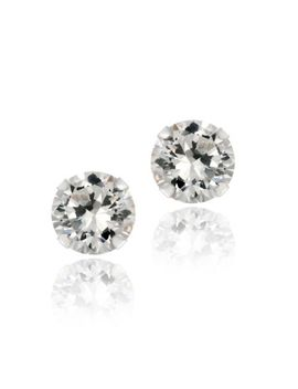 2ct-white-topaz-925-sterling-silver-stud-earrings-6mm by ebay-seller