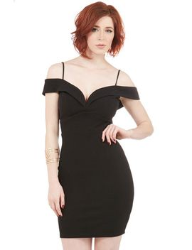 ill-be-flair-dress-in-noir by modcloth