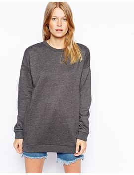 asos-boyfriend-sweat-in-longer-length by asos-collection
