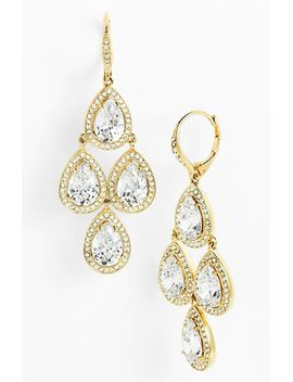 cubic-zirconia-chandelier-earrings by nadri