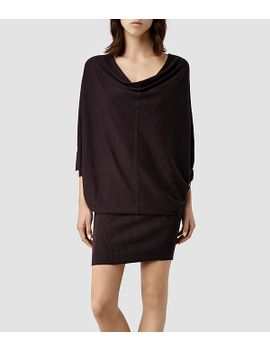 elgar-sweater-dress by allsaints
