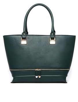 new-look-lola-shopper-bag-in-dark-green by new-look