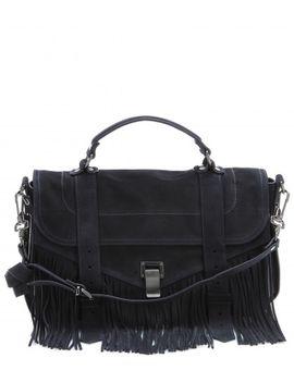 ps1-medium-fringe-suede-shoulder-bag by proenza-schouler