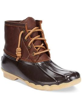 womens-saltwater-duck-booties by sperry