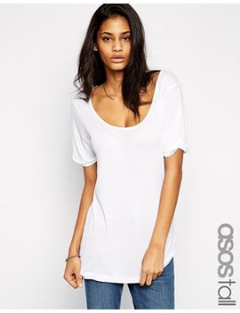 asos-tall-forever-t-shirt-in-rib by asos-tall