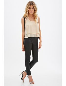 sequined-chiffon-layered-top by forever-21