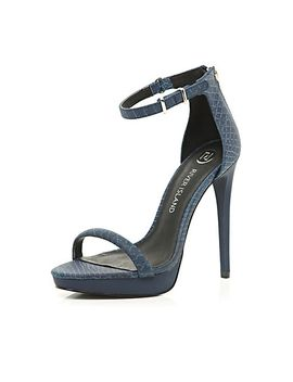 navy-platform-barely-there-sandals by river-island