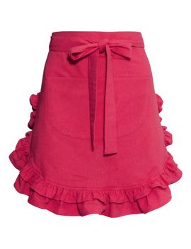apron-with-ruffle by h&m