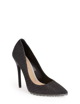osture-snakeskin-pump-(women) by bcbgmaxazria