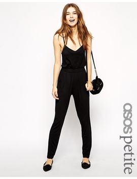 asos-petite-exclusive-strappy-jumpsuit by asos