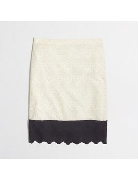 factory-pencil-skirt-in-colorblock-lace by jcrew