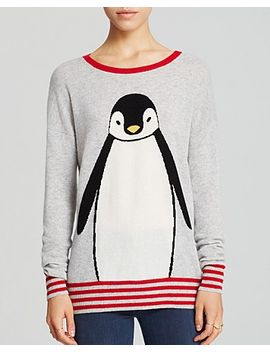 aqua-cashmere-sweater---penguin-intarsia by bloomingdales