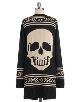 skull-spirit-cardigan by modcloth