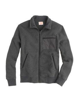 summit-fleece-track-jacket by jcrew