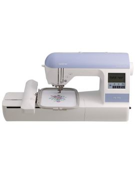 brother-pe770-5x7-inch-embroidery-machine-with-built-in-memory,-usb-port,-6-lettering-fonts-and-136-built-in-designs by brother-sewing
