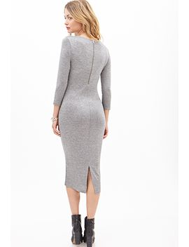 heathered-midi-dress by forever-21