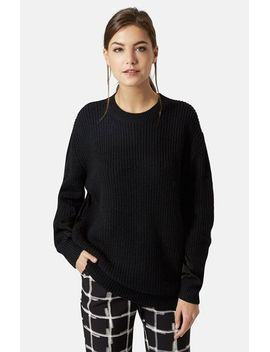 hybrid-rib-sweater by topshop