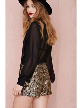 flashing-out-sequin-hot-pants by nasty-gal