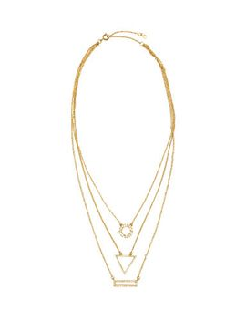 three-strand-necklace by h&m